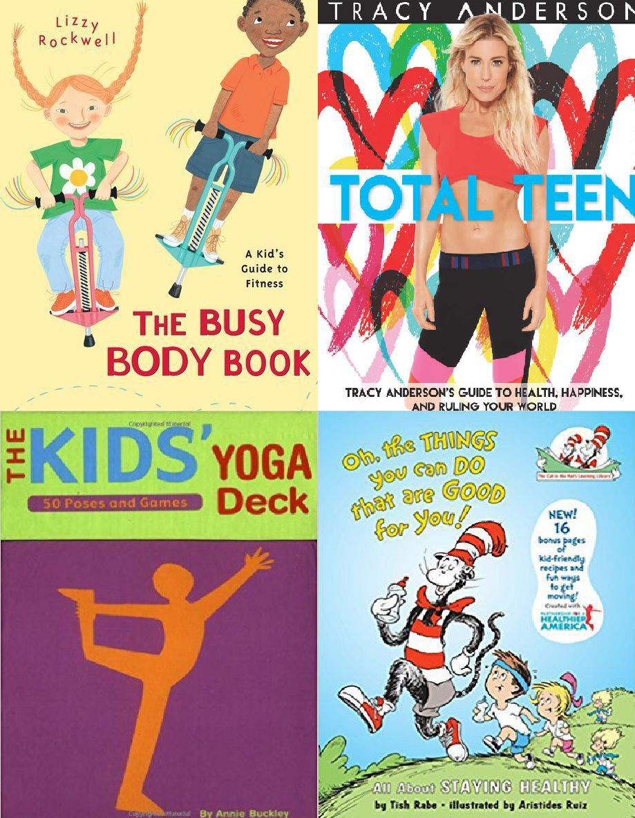 Brain power: Books feature tips for getting kids excited to exercise, eat healthfully