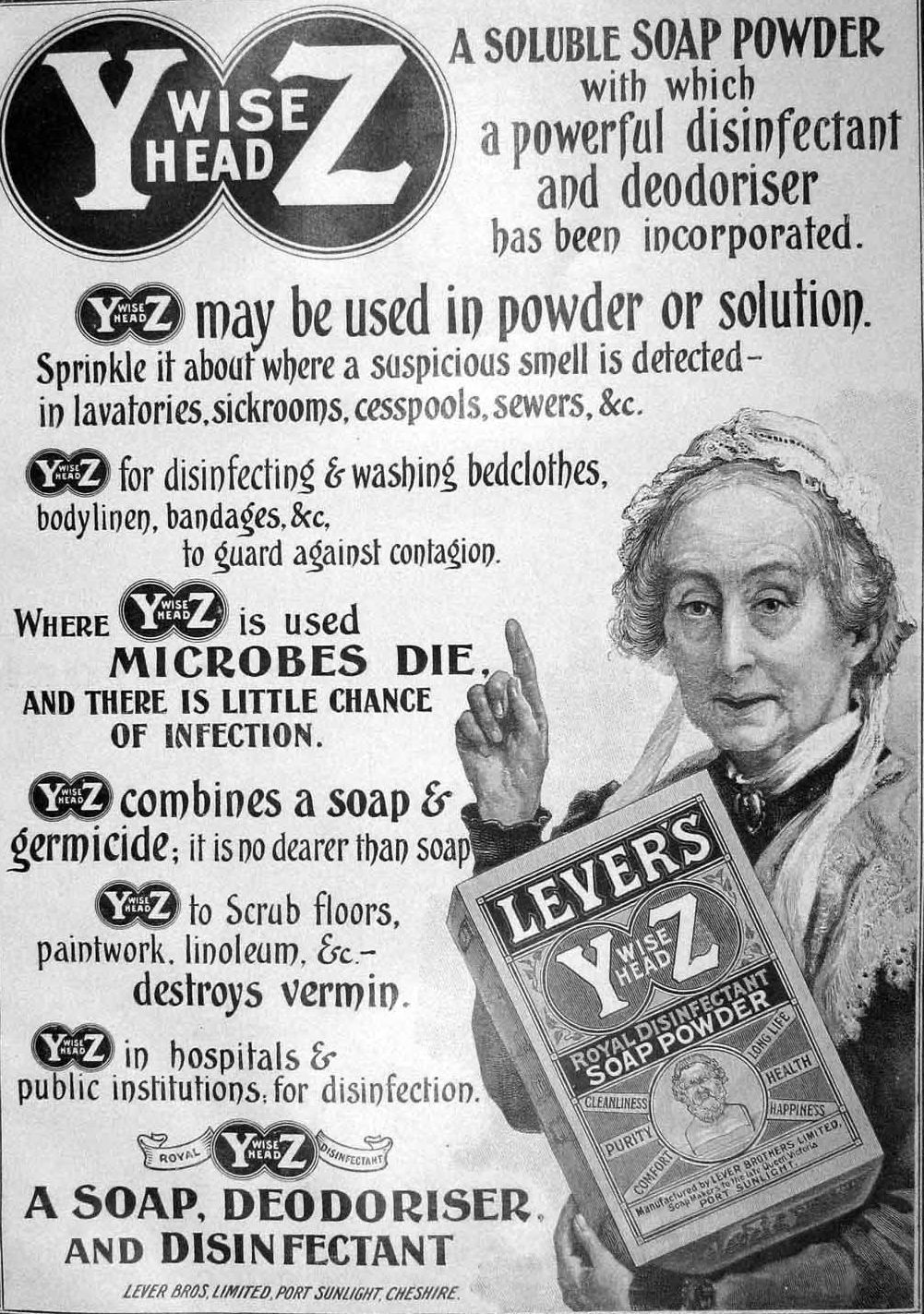 Lever Brothers Soap Advertisement 1904