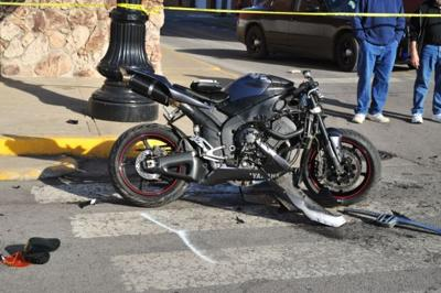 Crown Point man dies following motorcycle crash on the square
