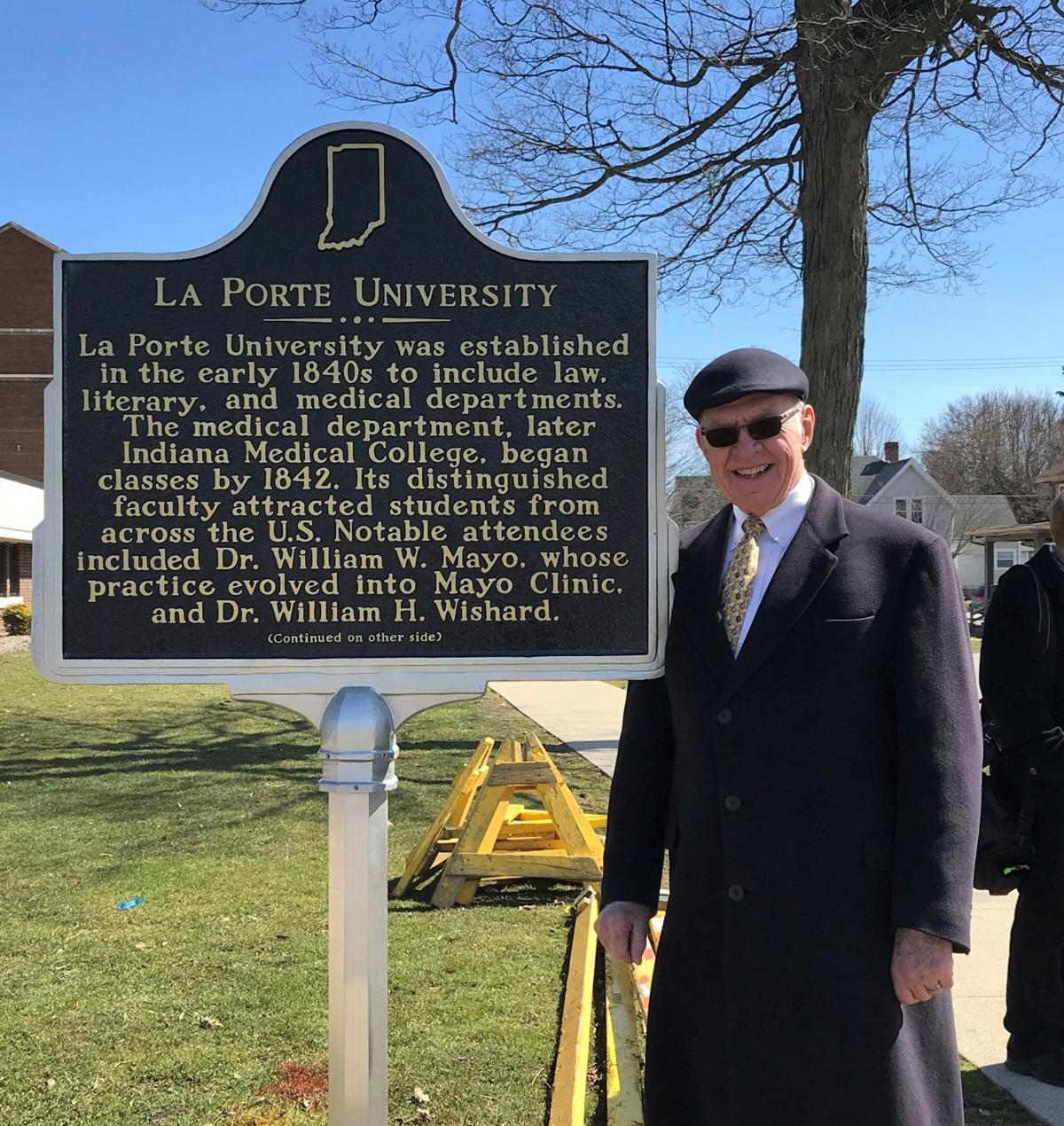 New historical marker honors Indiana's first medical school