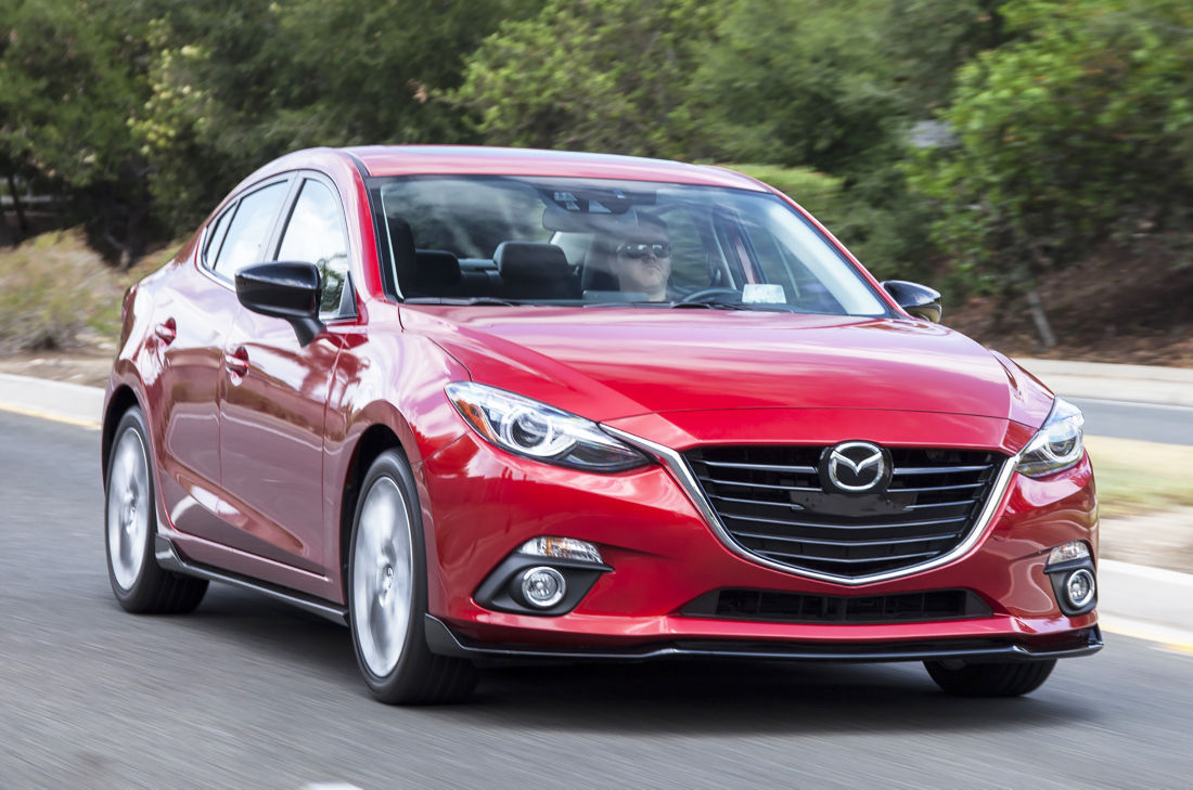 Mazda3 great gas mileage and fun to drive