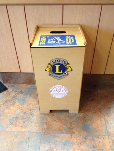 4055df96379c Valparaiso Lions Club collects used eyeglasses