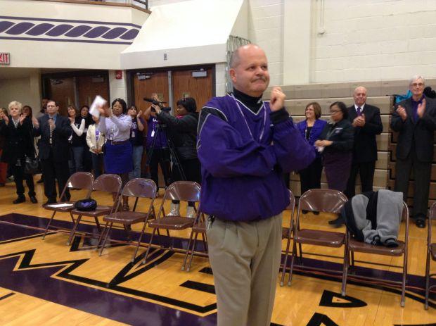 Clear Lake Schools >> Merrillville High School honors principal : Merrillville Community News