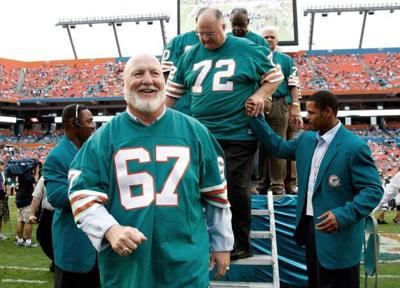 Hobart's Bob Kuechenberg a part of five Super Bowl rings with Miami (copy)