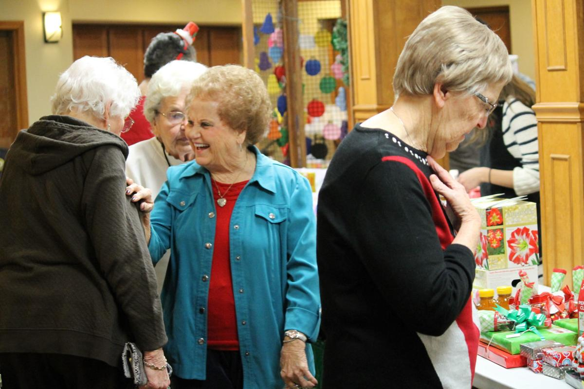 Retirement villages deck halls with merriment, food, crafts and entertainment