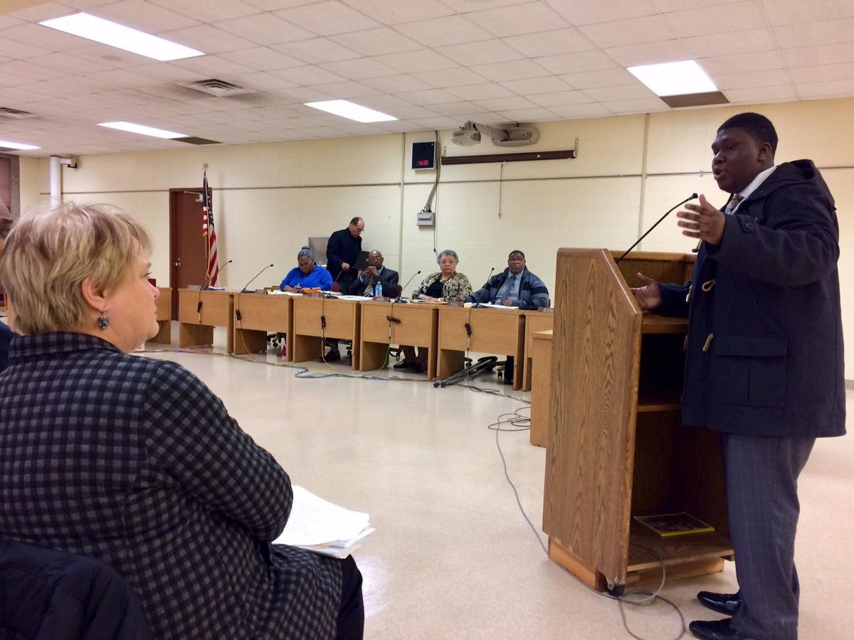 Gary school board meeting 2