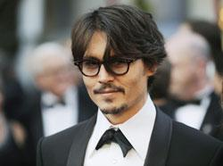 Johnny Depp as Dillinger