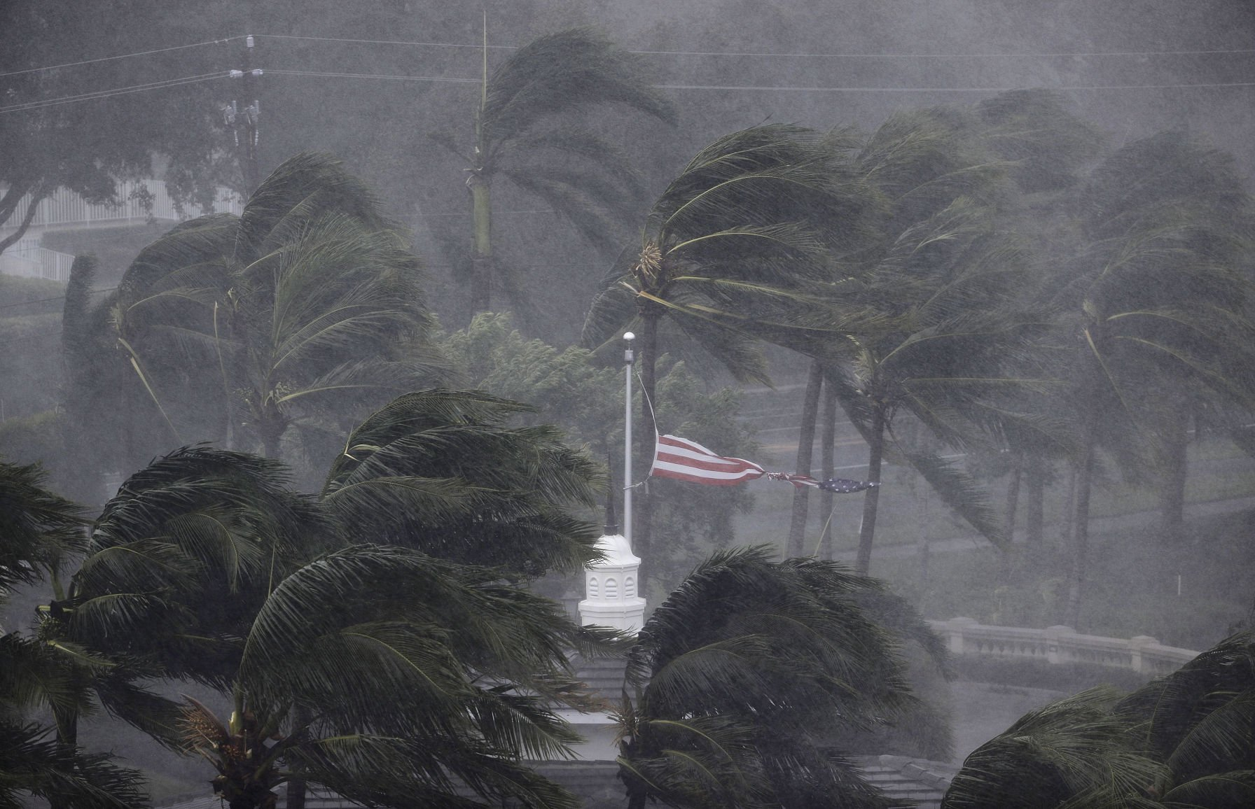 Apocalyptic scenes in storm ravaged Florida Keys