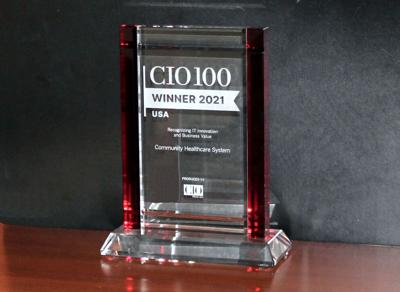 Community Healthcare System wins national award for IT innovation