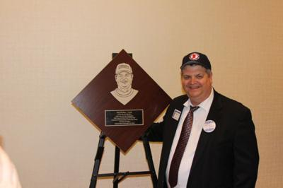 Coach hits home run as new Hall of Famer
