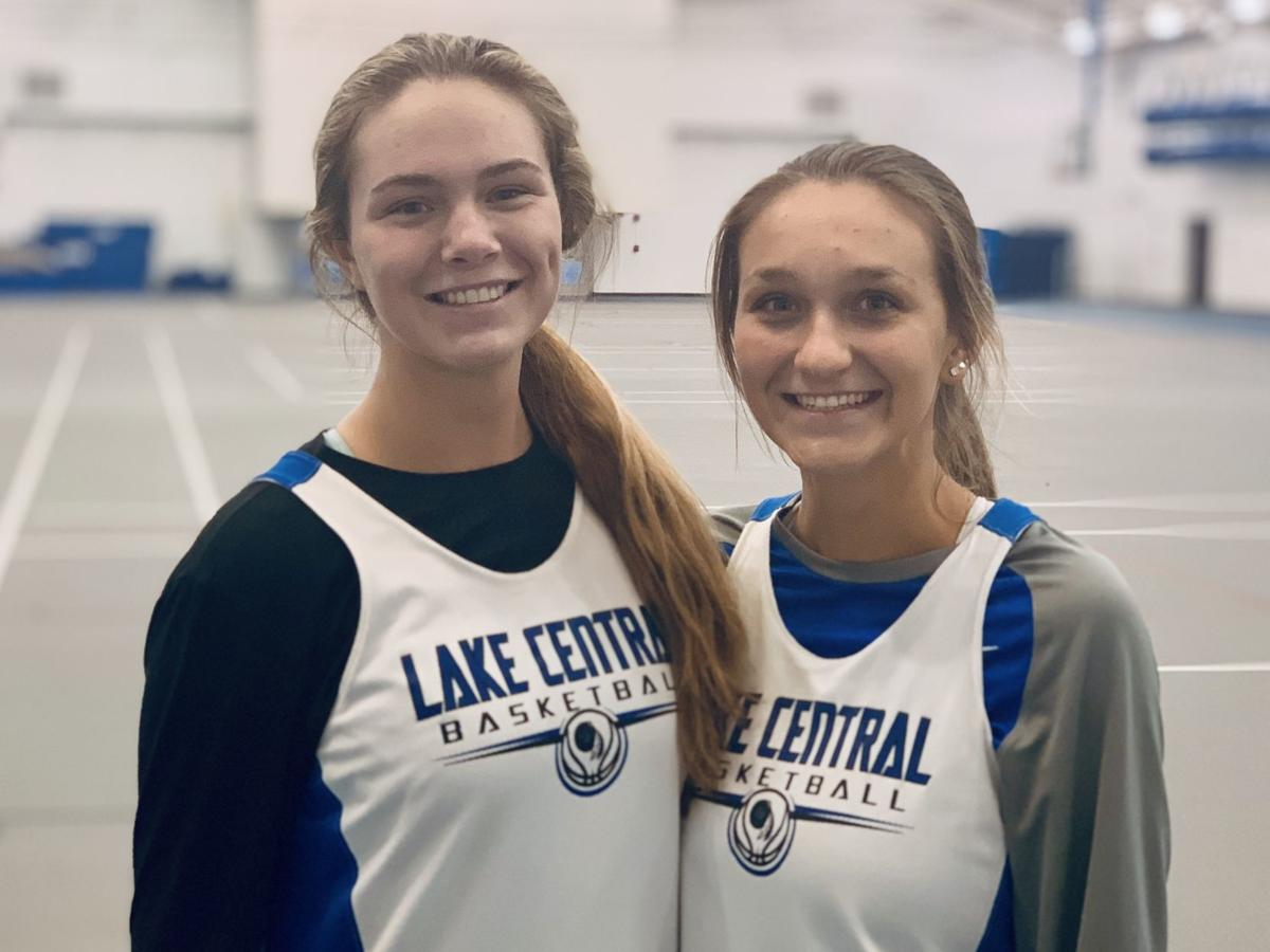 Taylor Jaksich and Jen Tomasic -- Lake Central