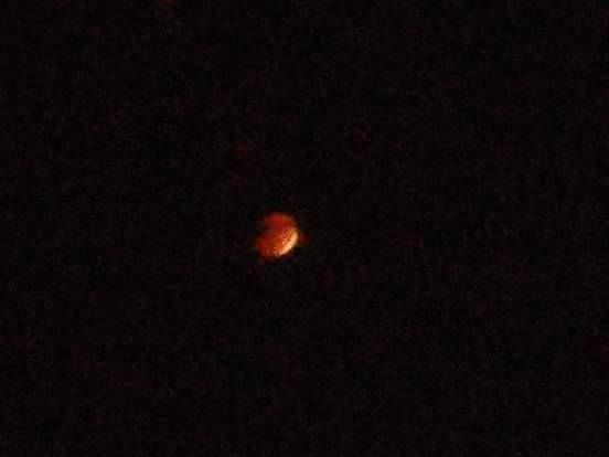 Super Moon Eclipse in NWI