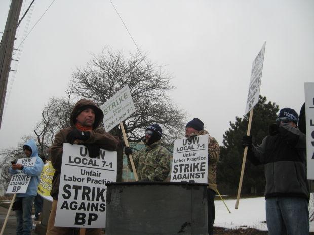 BP strike