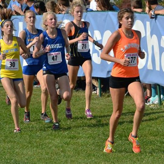 Laporte 39 s riehle takes cross country in stride nwi preps for Laporte schools employment