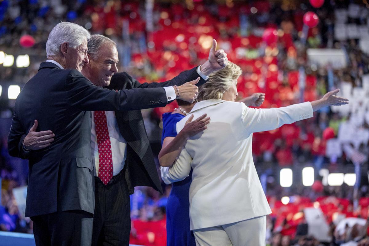 Hillary Clinton, Tim Kaine, Bill Clinton, Anne Holton