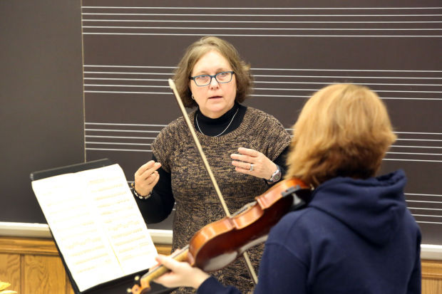 Orchestra teacher knows how to pull strings | Portage News