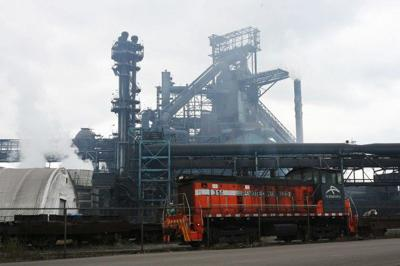 Steel production has risen by 5.7 percent this year