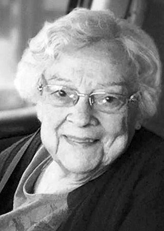 (Katherine) Joan Holzmer (nee Sutherlin)