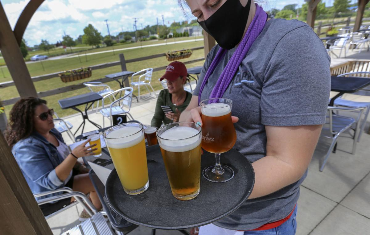 Byway Brewing patio open