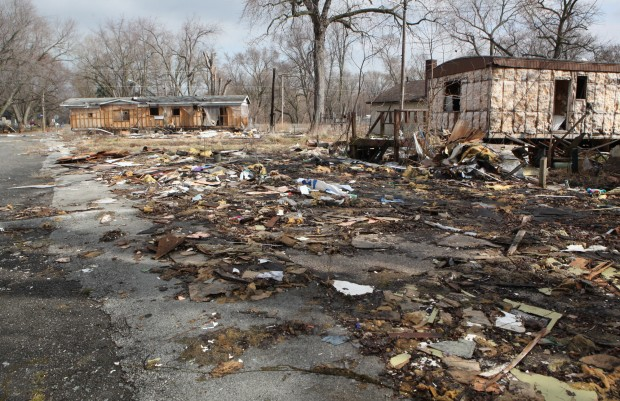 Lake Station residents, officials frustrated with trailer park cleanup efforts
