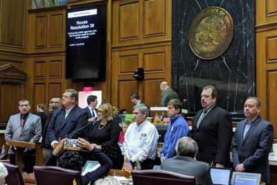 State representatives urge American steel be used in all public works projects