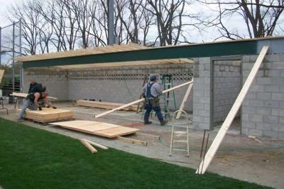 Local Carpenters Union Rebuilds Baseball Dugout Lake County News