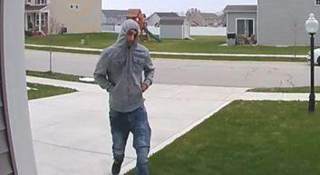 Portage man arrested in theft after photo captured through doorbell app