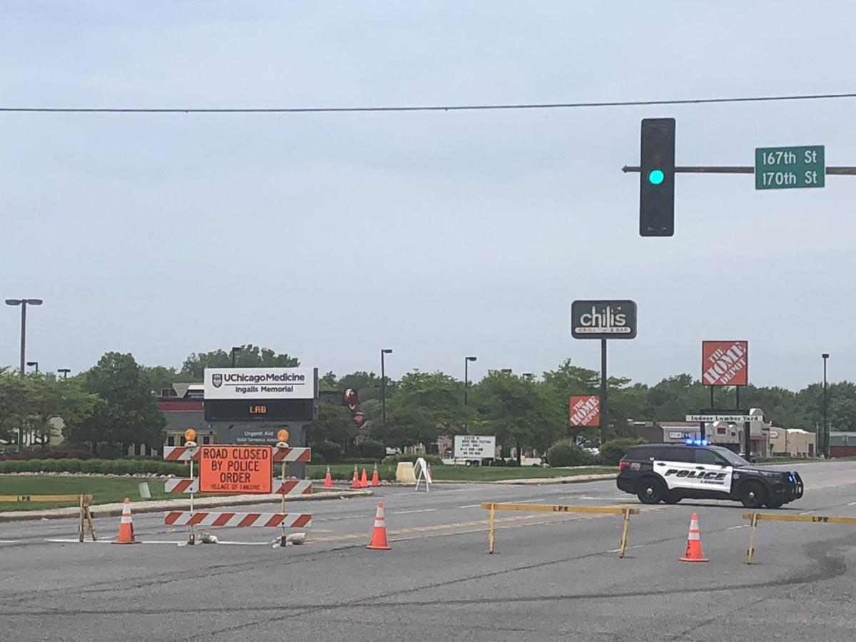 UPDATE: Entire River Oaks and Landings trade area blocked off while Cal City and Lansing rebuild