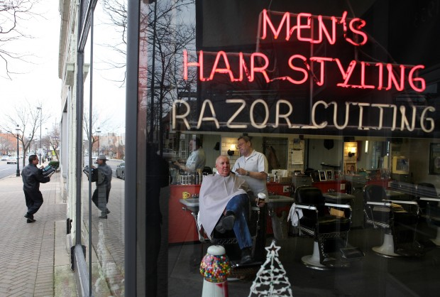 barbershop haircuts a look at selected region downtowns south suburban news 5373