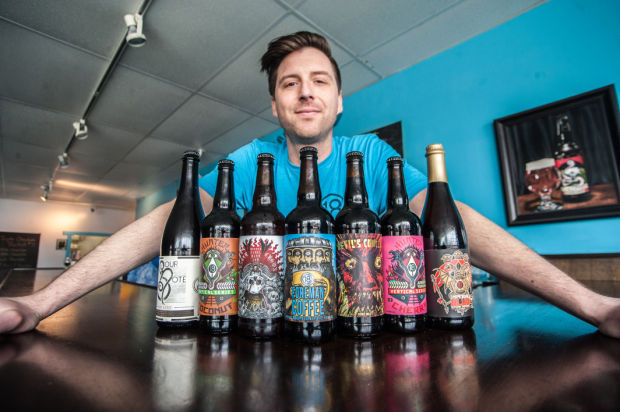 On the job: Joey Potts, creative director, 18th Street Brewery