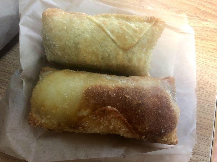 Big City Cheesesteaks puts a cheesteak in an egg roll
