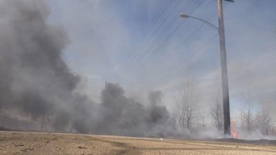 Brush Fire field FILE PHOTO