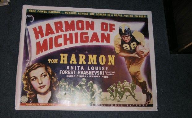 Tom Harmon movie poster