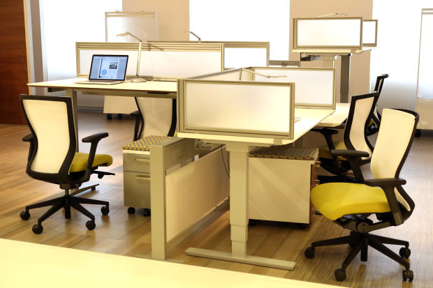 tear down that cubicle wall office furniture designers say
