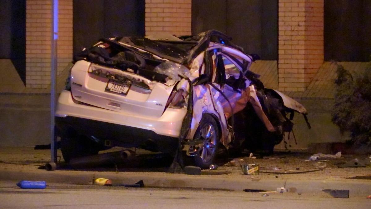 Several taken to hospital after two-car crash