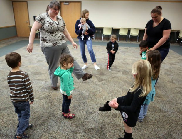 Youngsters make some fancy moves at dance session