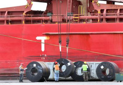 Steel imports fall 9 percent in August, still up year-over-year