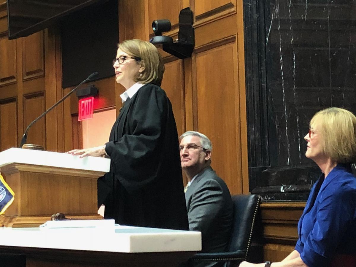 Indiana chief justice tells lawmakers that courts are taking action to combat state's opioid crisis