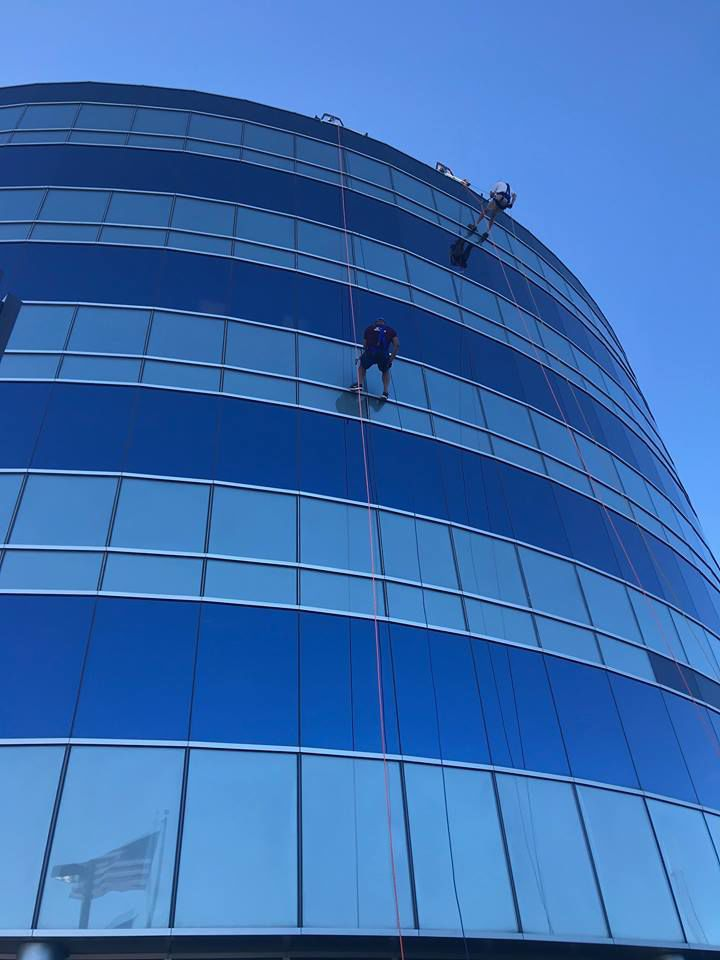 Centier bank tower rappelling fundraiser to return next year
