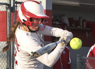 Crown Point vs Lake Central Softball (top 5)