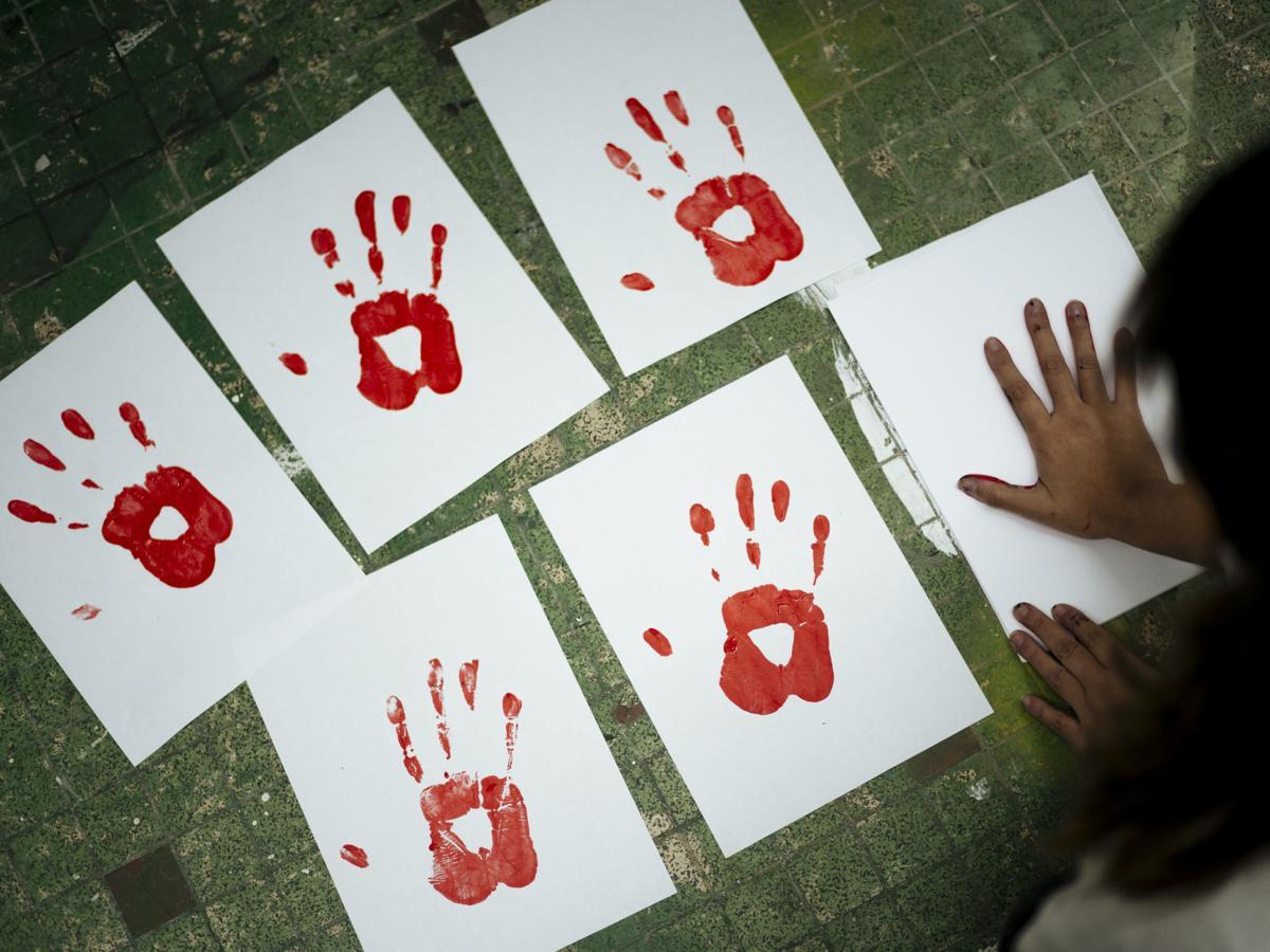 Virus Outbreak Domestic Violence