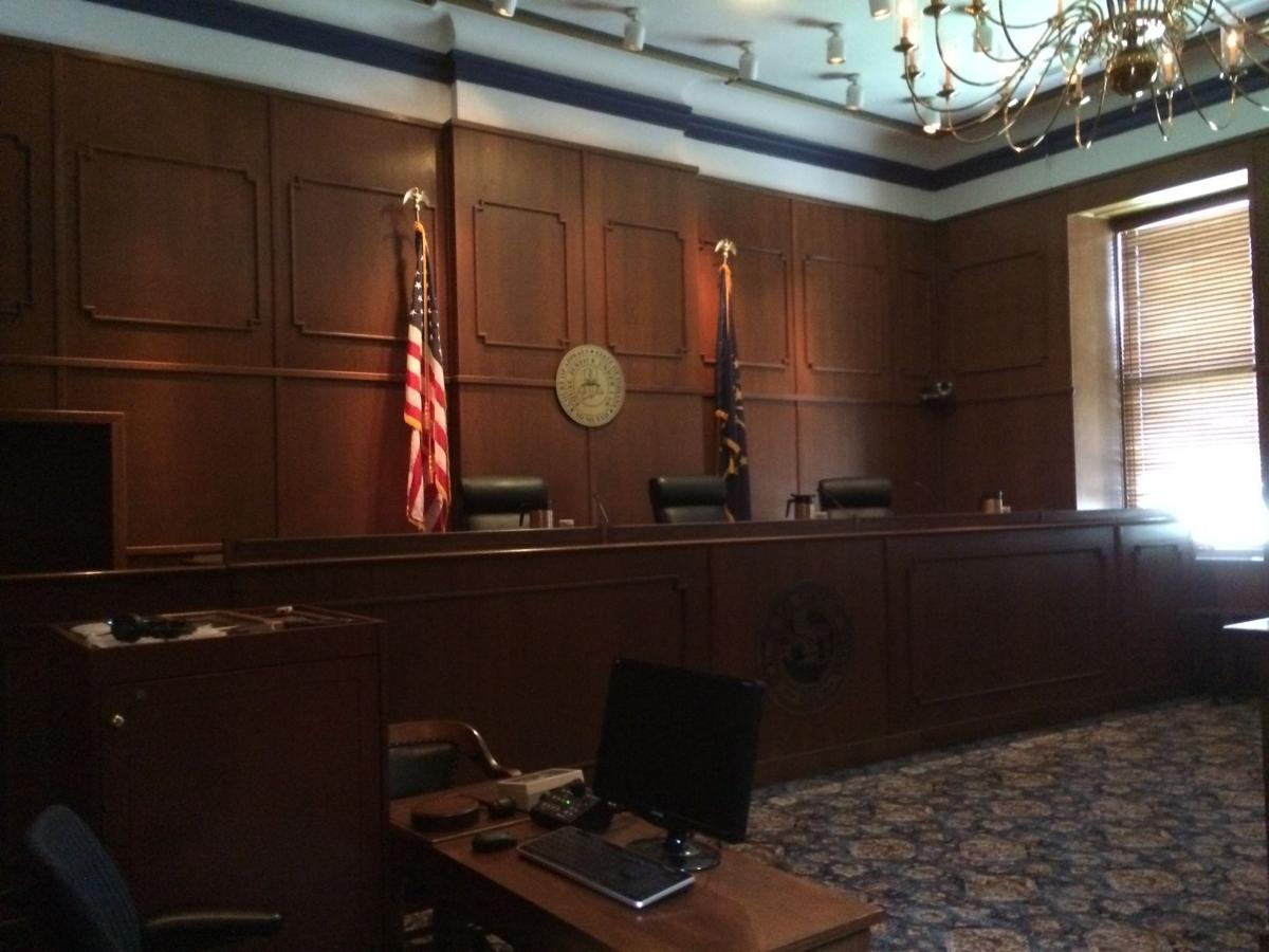 Indiana Court of Appeals courtroom