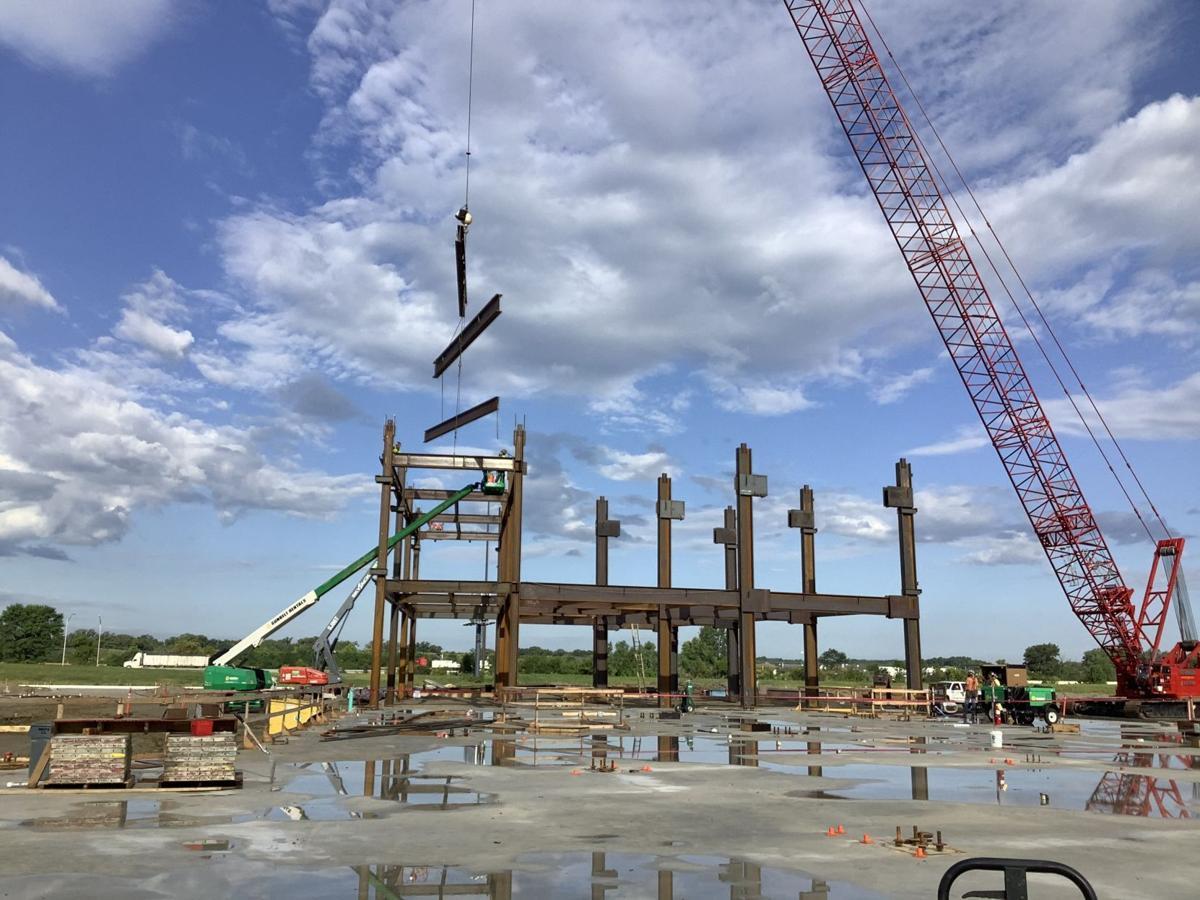 Work progressing on new, $333M Crown Point hospital