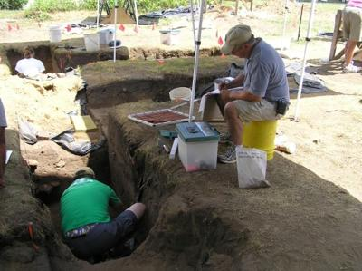 Baum's Bridge Archaeology
