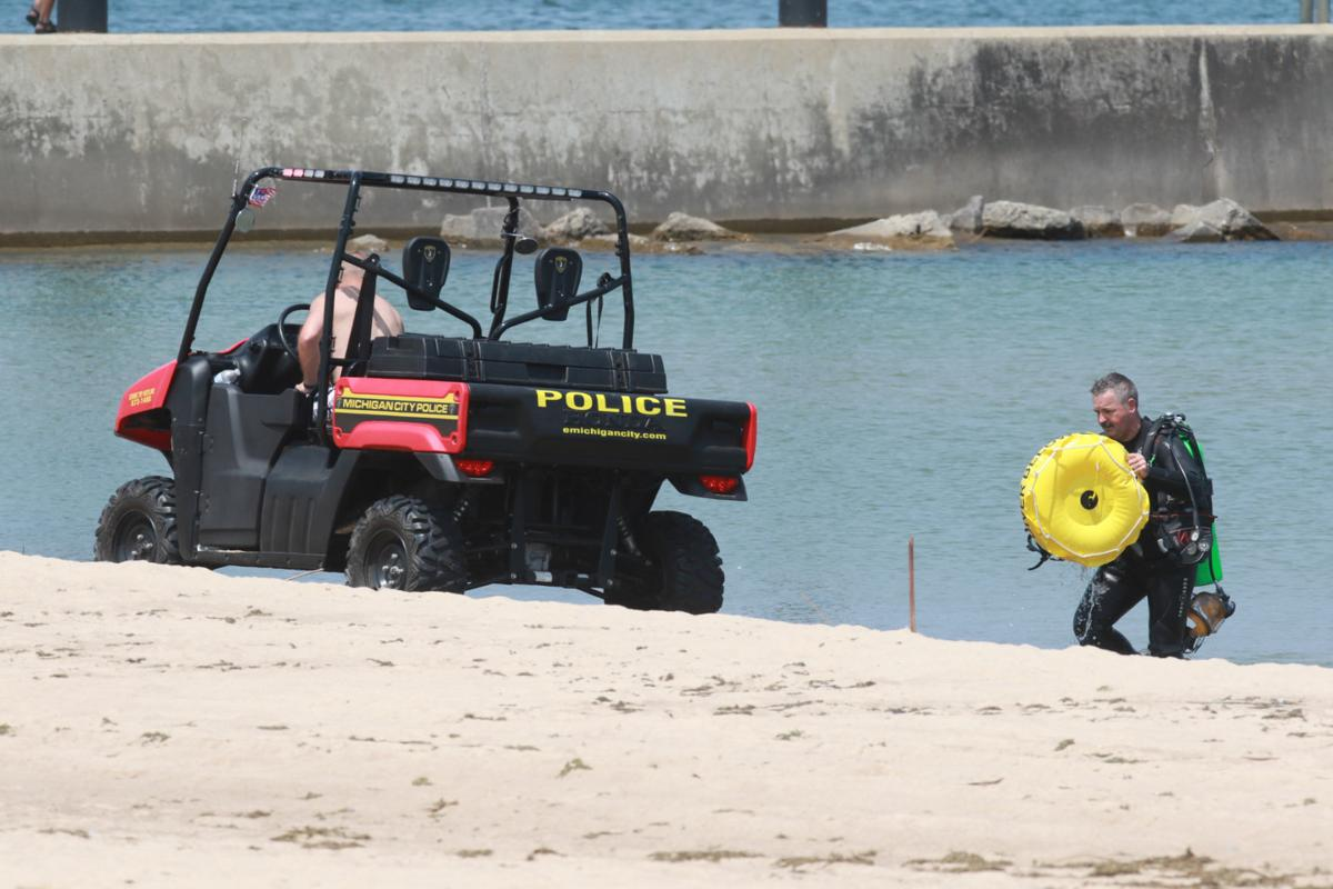 Search for possible drowning victim