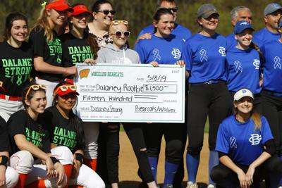 Dalaney Strong: Wheeler and Boone Grove rally to strike out cancer