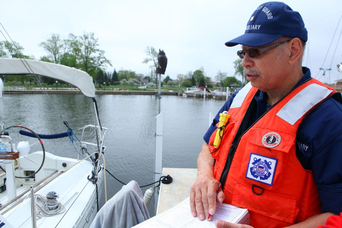 U.S. Coast Guard Auxiliary boating safety event