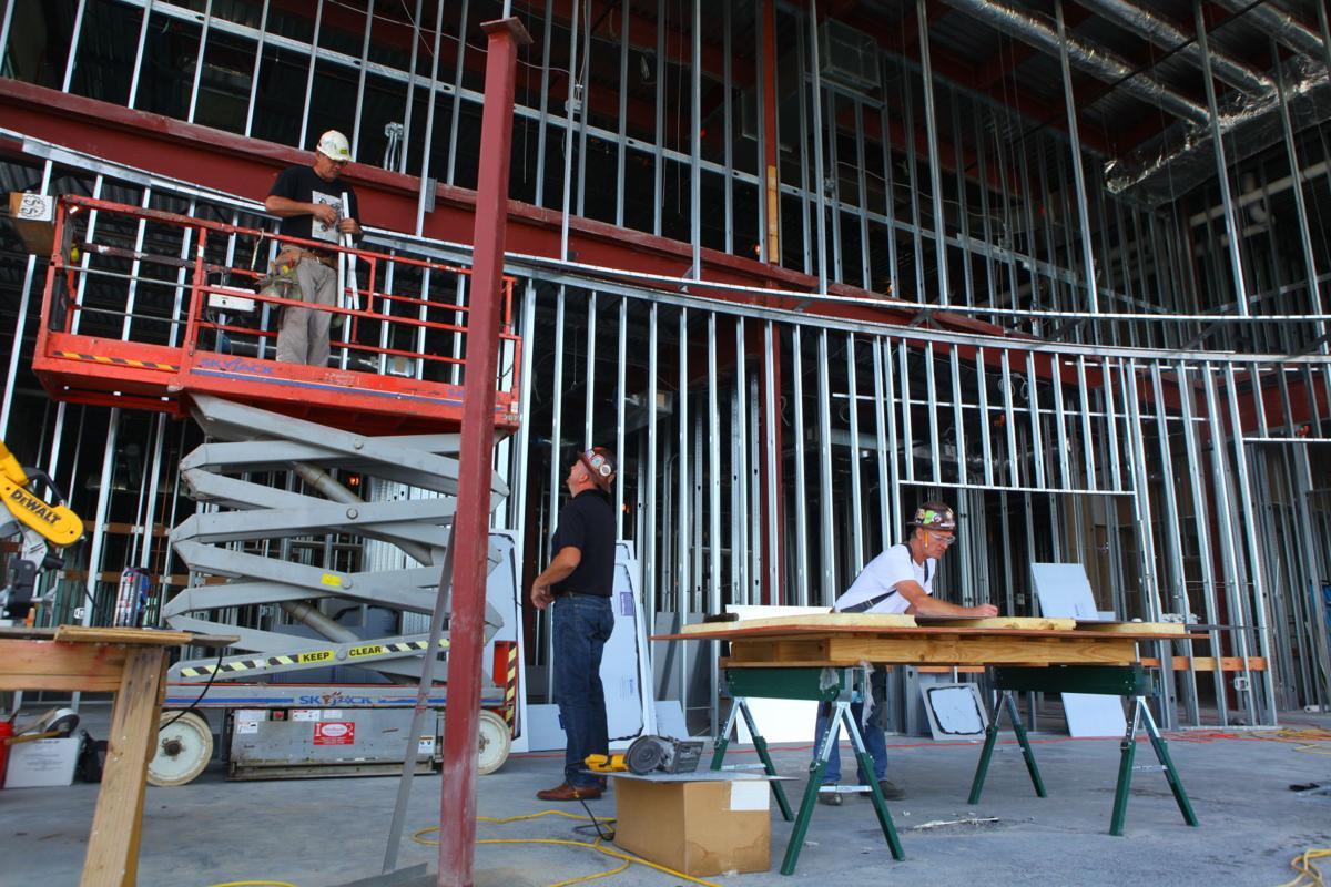 Local 1005 headquarters construction