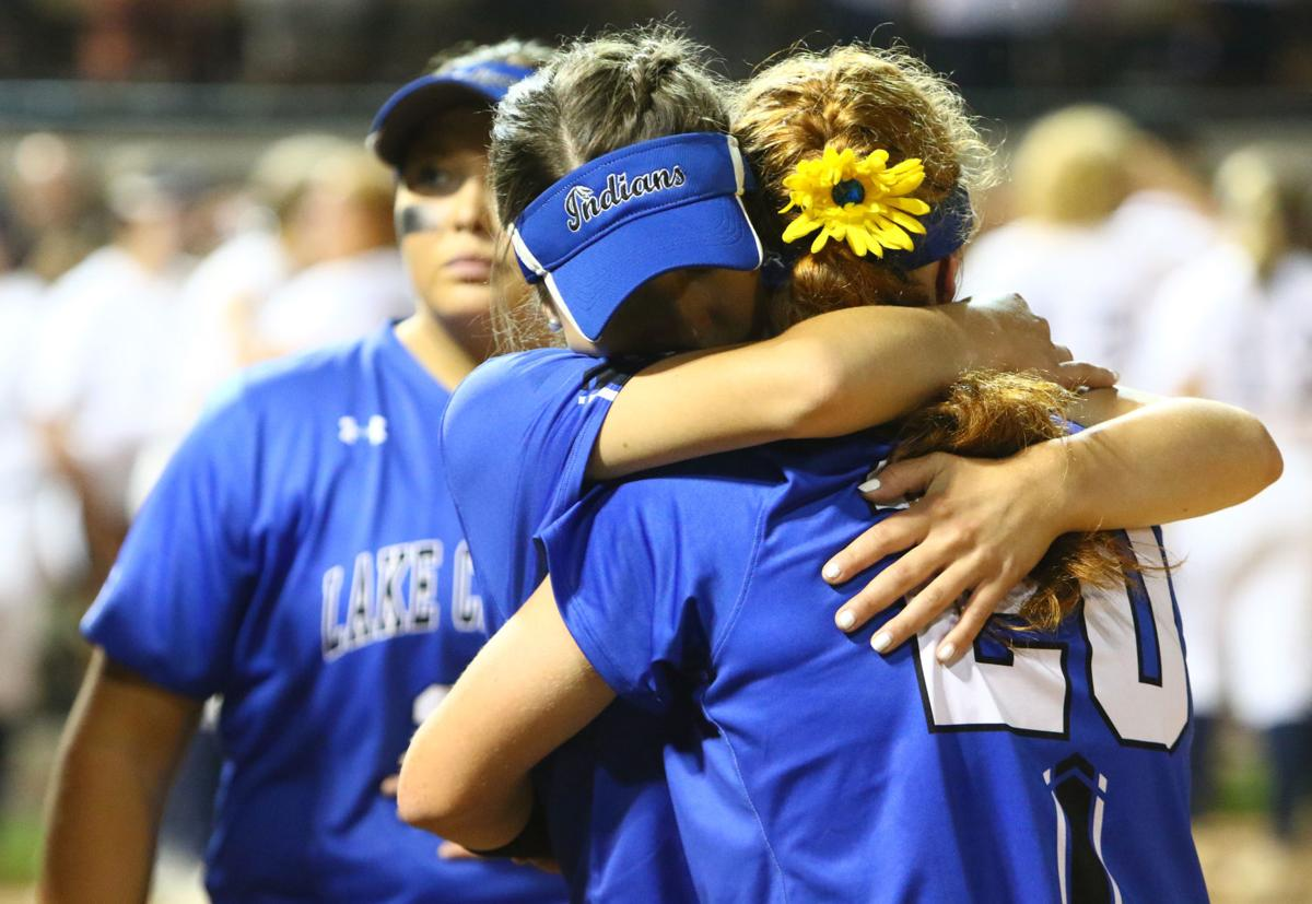 Lake Central vs. Decatur Central in state softball championship