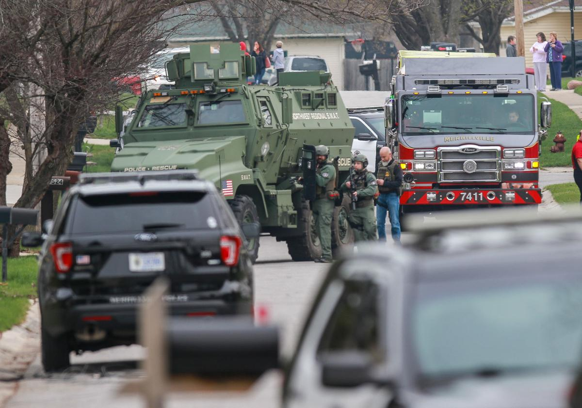 SWAT team responds to Merrillville shooting